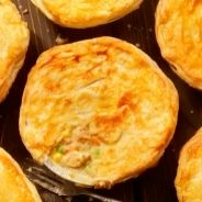 chicken and corn pies