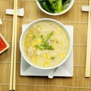 easy chicken and corn soup