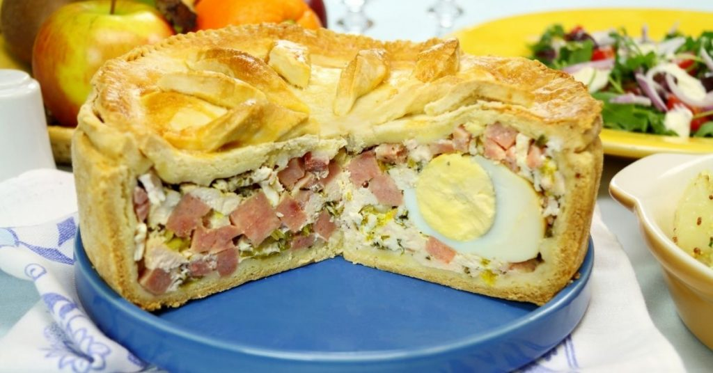 Egg And Bacon Pie No Pastry Recipe